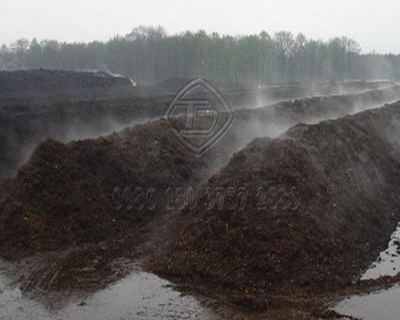 Compost Fertilizer Made by Fertilizer Machinery