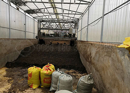 Trench composting for cow dung fertilizer making