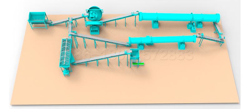 Fertilizer Granulation Line