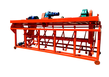 Groove type compost fertilizer making machine